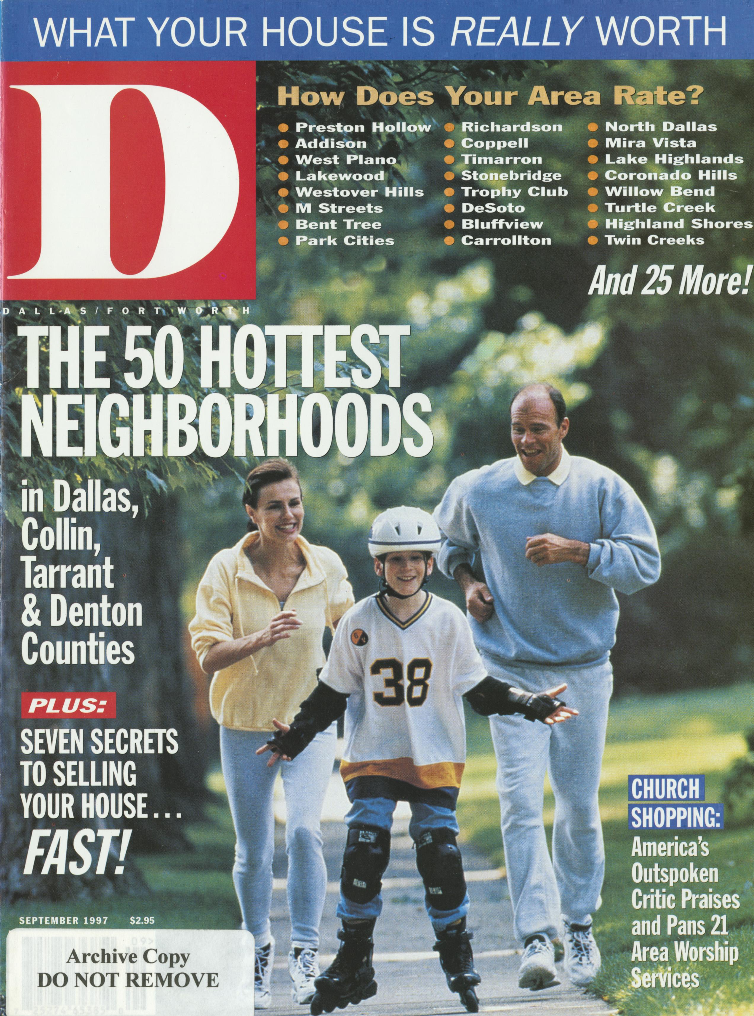 September 1997 cover