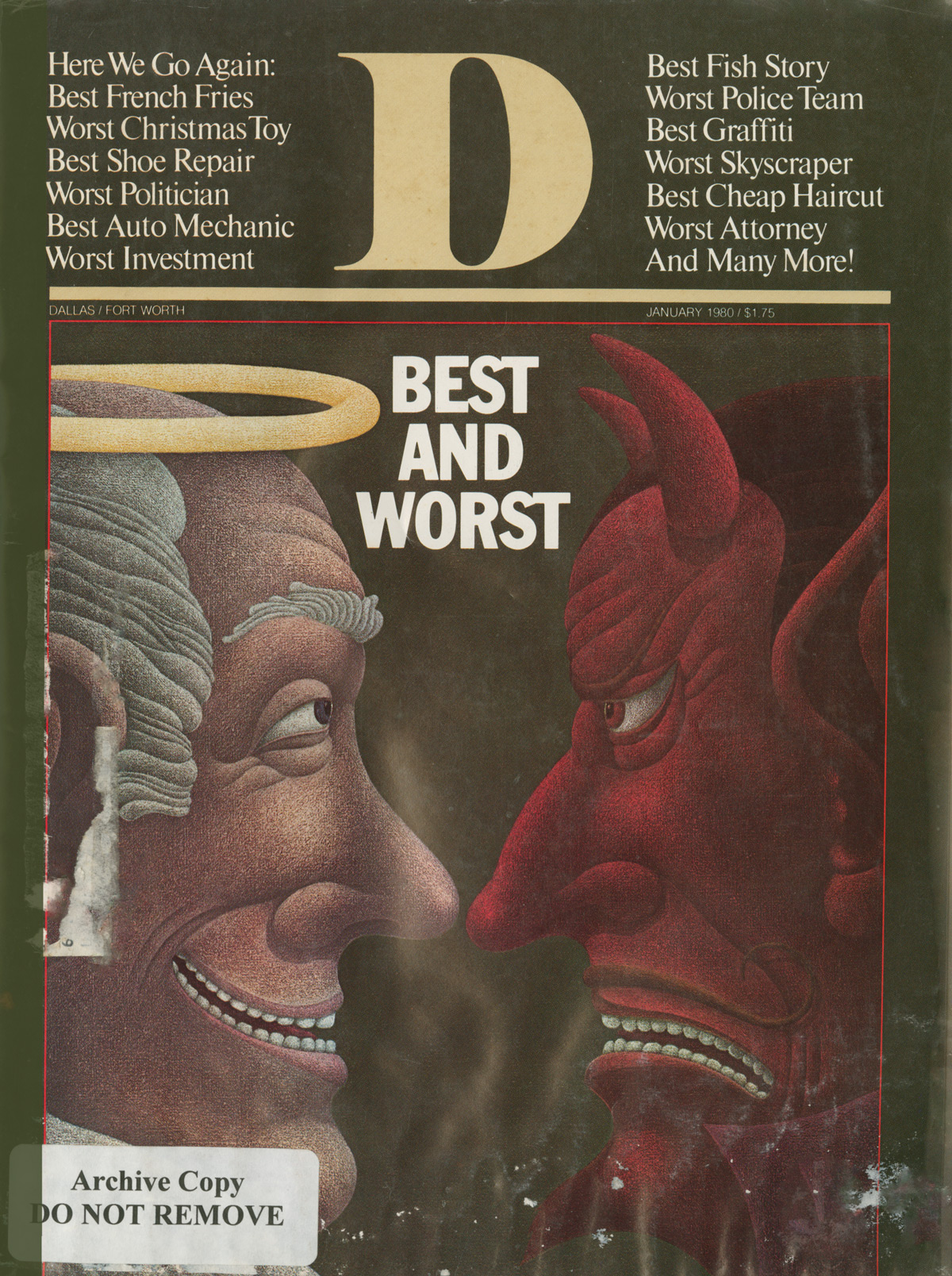 January 1980 cover