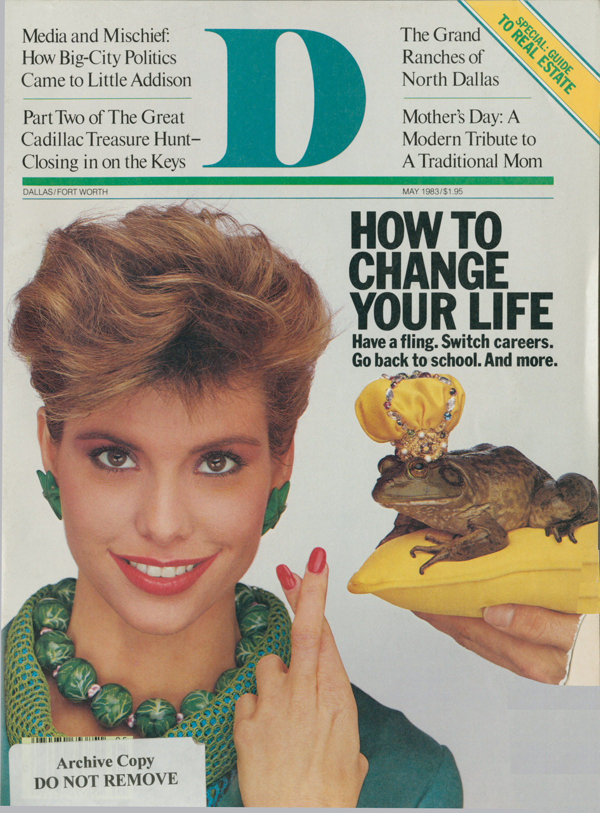 May 1983 cover