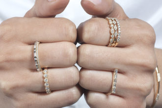 pratiksha stacking rings