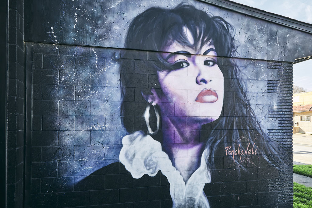 selena portrait on west dallas studio