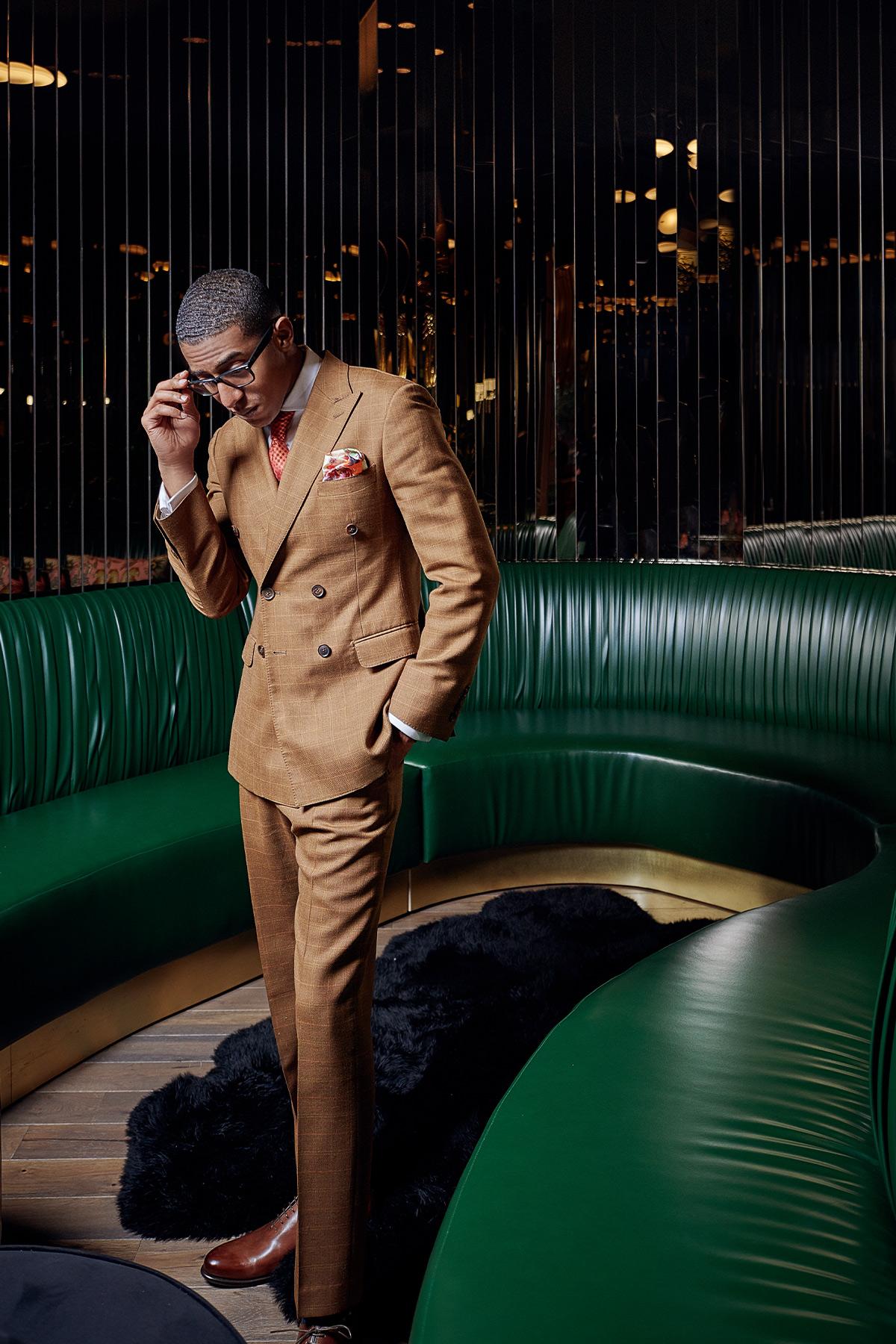 NeAndre Broussard Creator Black Menswear
