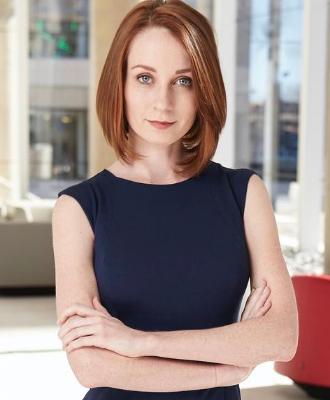 Sarah Fox at Younger Partners headshot.