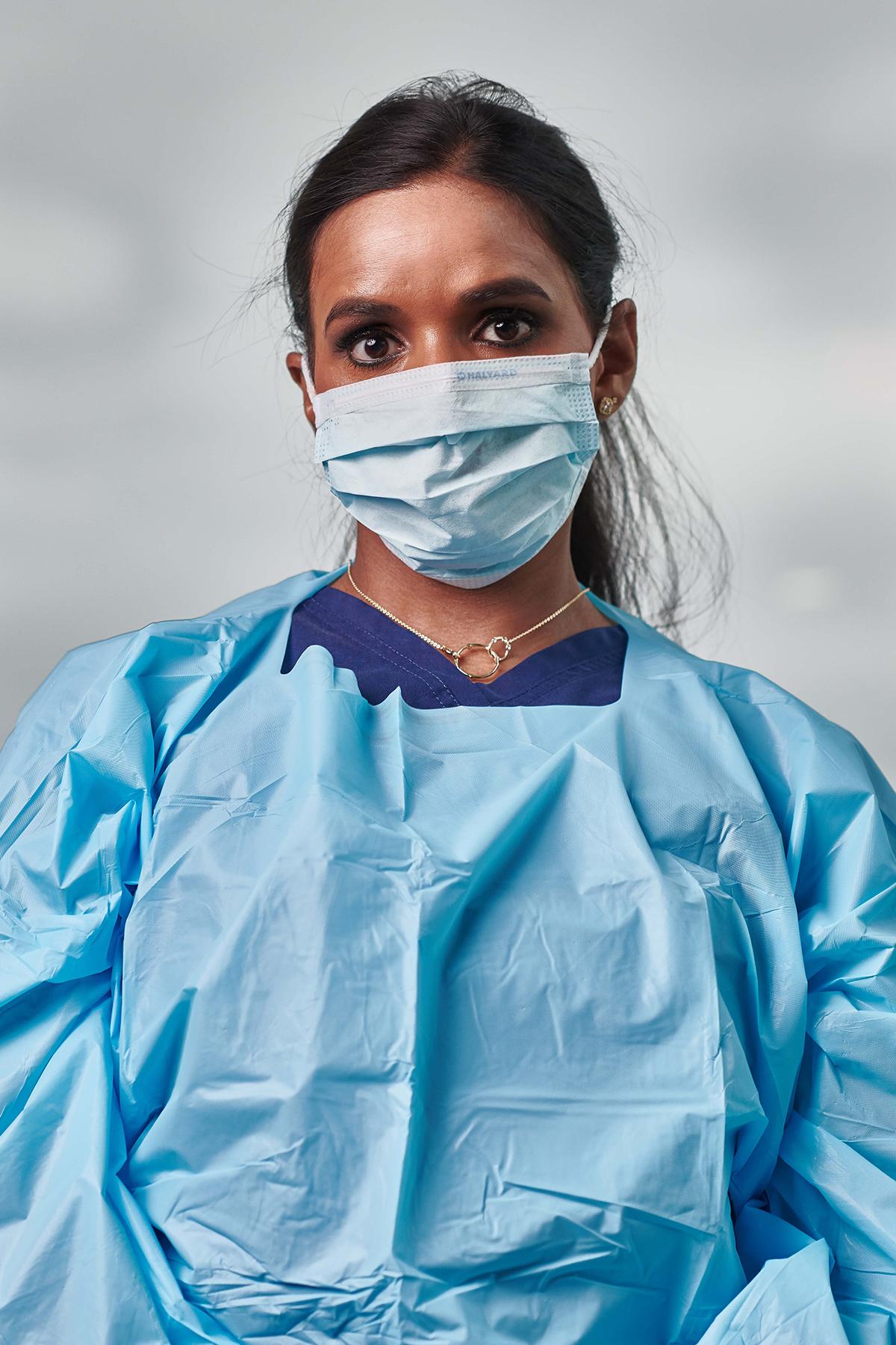 UTSW COVID-19 nurse