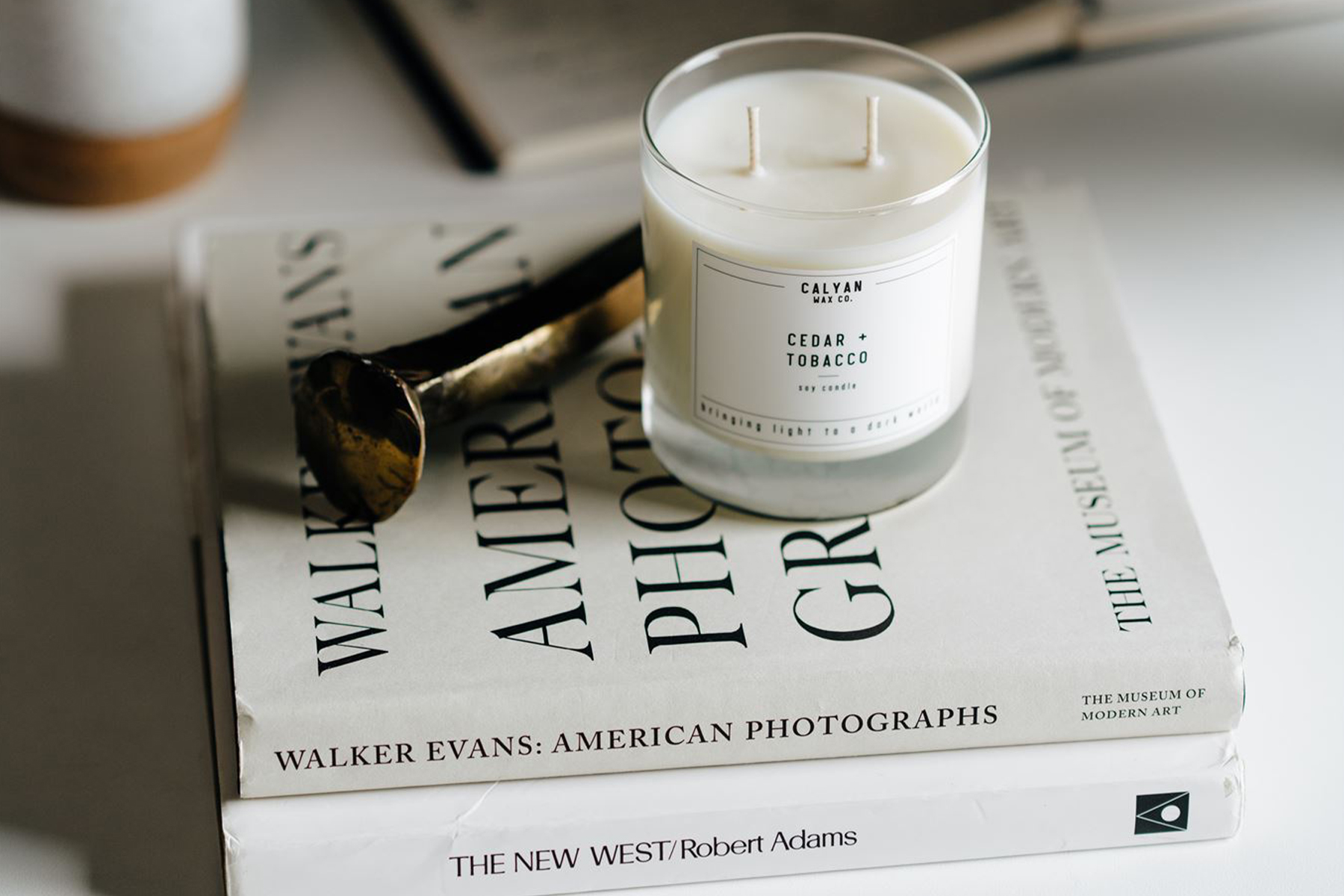 Calyan Wax Co. candle