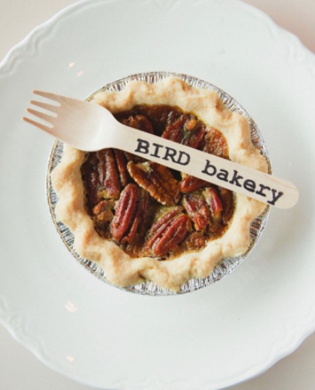 Bird Bakery pecan pie
