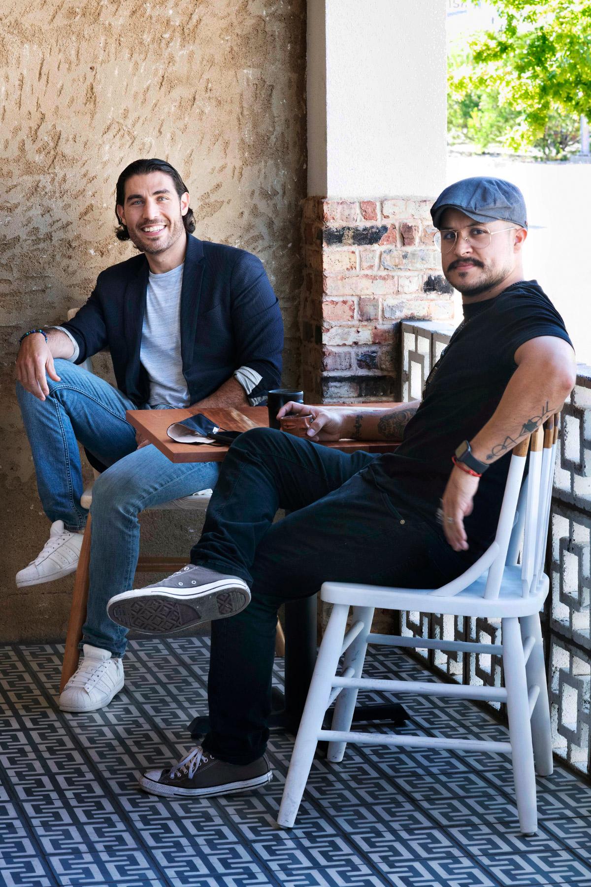 Xaman Cafe and Ayahuasca Cantina owners