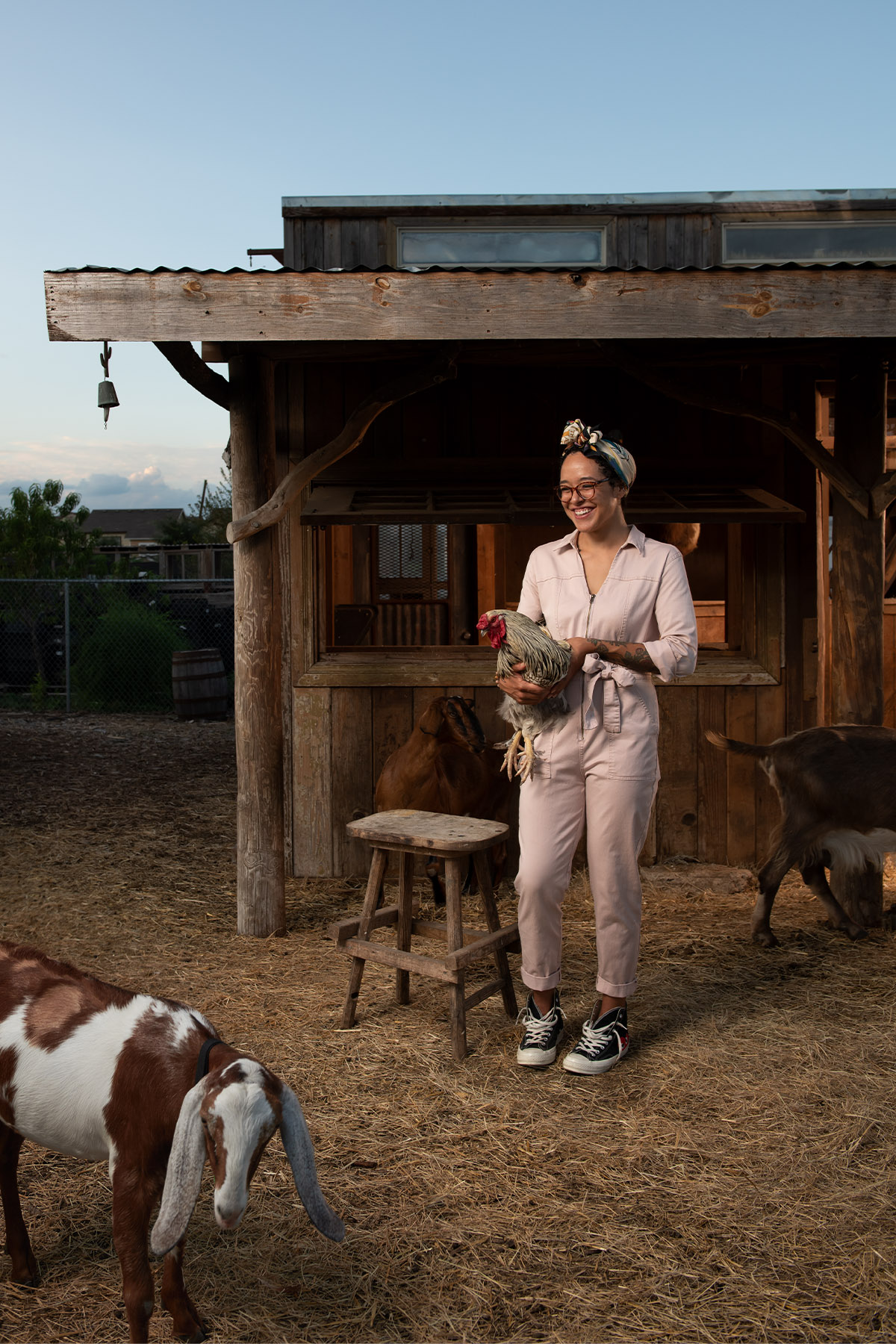Jessica Stampley Bonton Farms employee