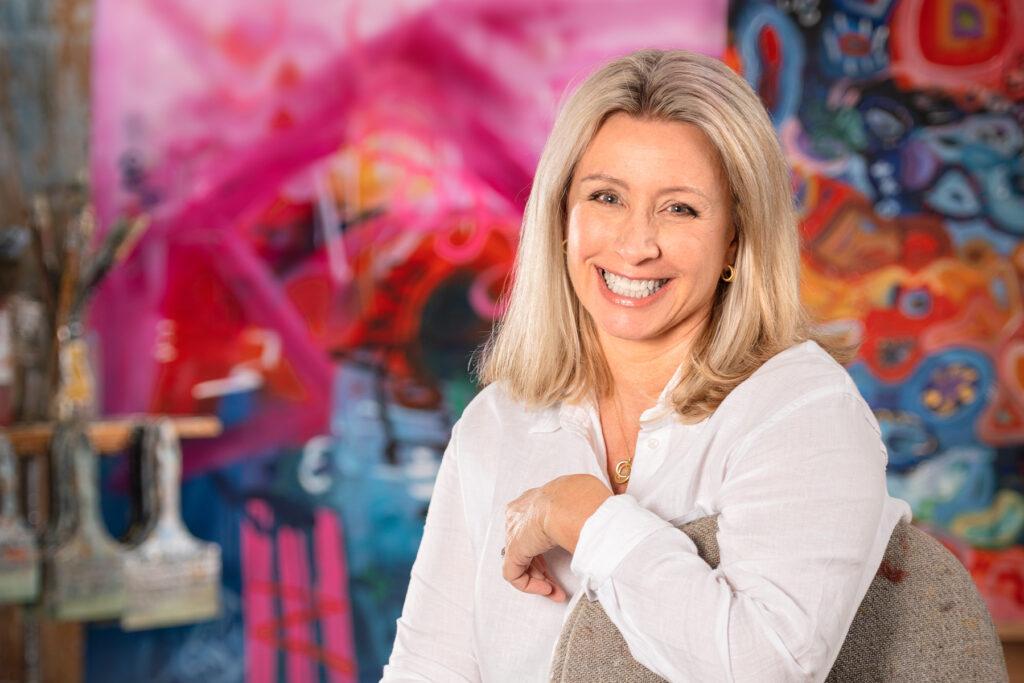 Health Tech Entrepreneur Lea Ellermeier Paints to Ease...