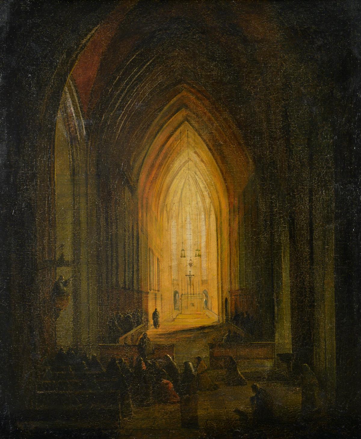 Adolphe Gouhenant painting