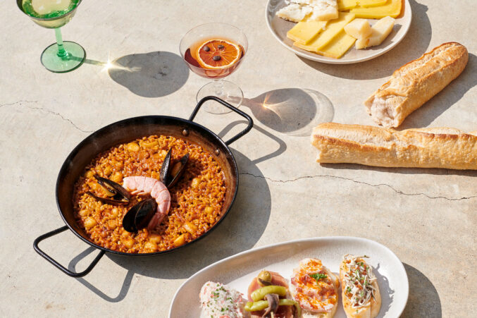 Sketches of Spain paella