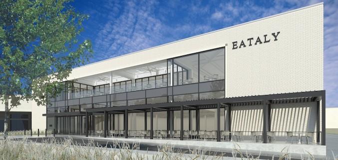 Rendering of Eataly in Dallas.