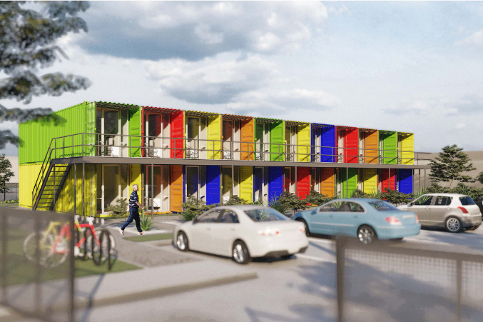 The Lomax Container Housing Project