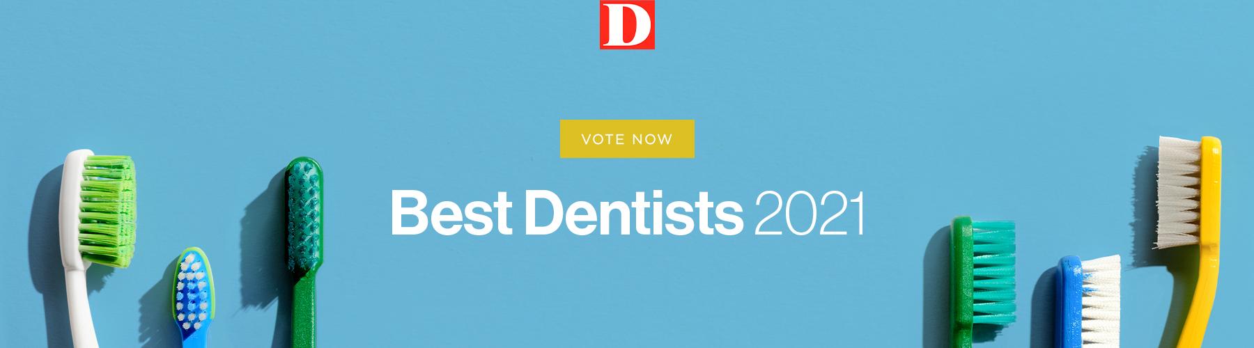 Best Dentists 2021 Form Header