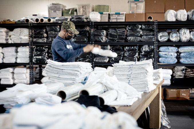 ALTLinen folding linens