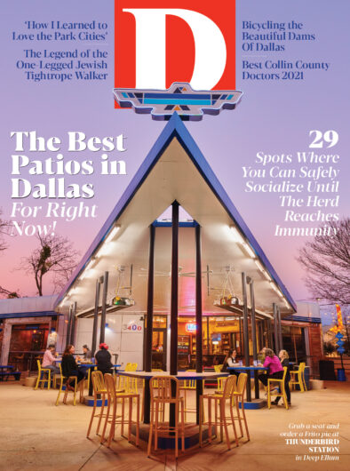 D Magazine April 2021 cover