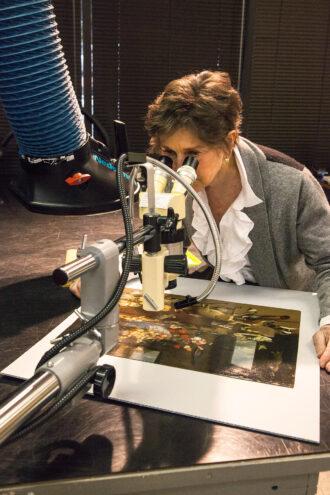 Helen Houp of Helen A. Houp Fine Art Conservation