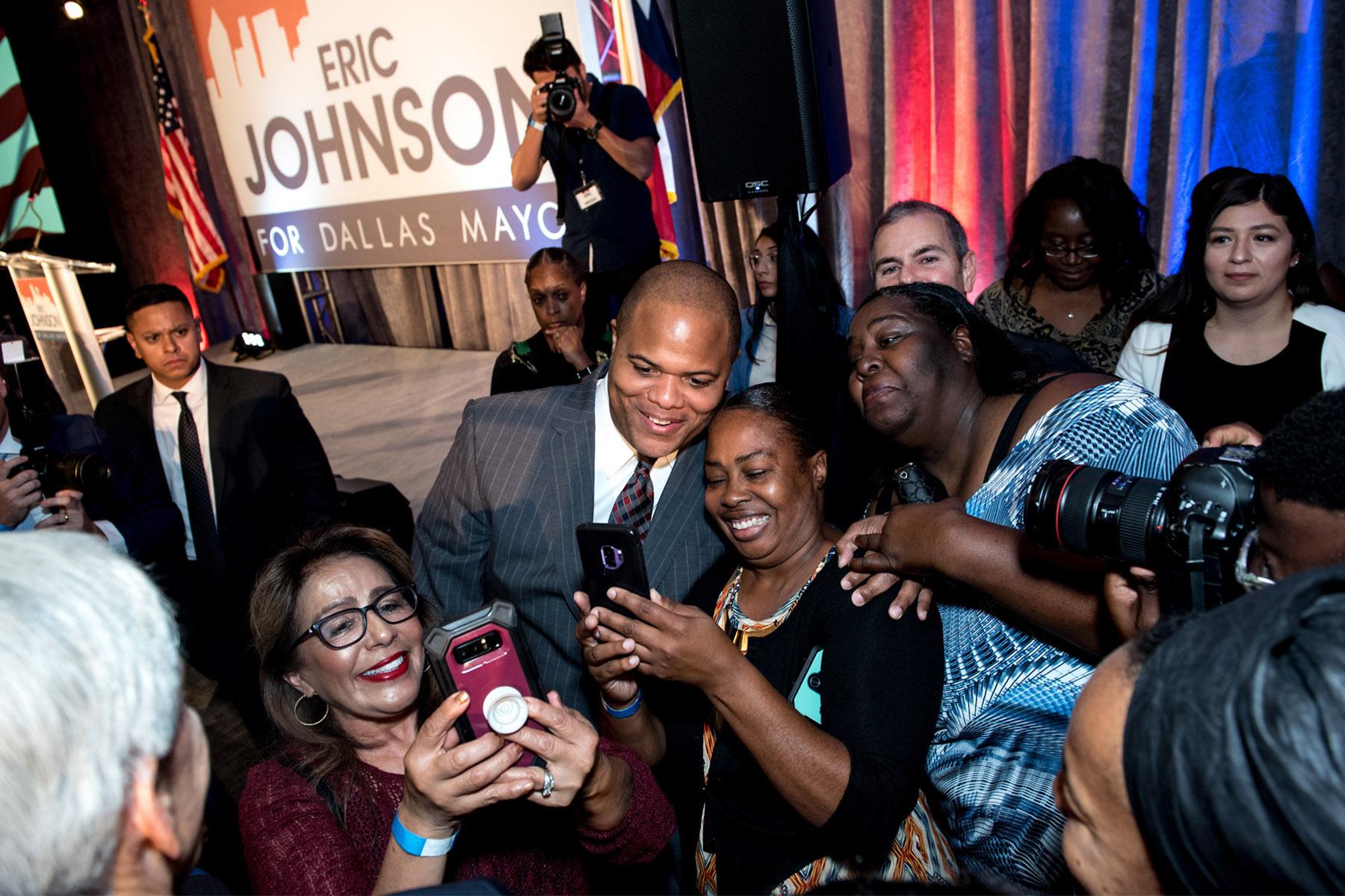 Eric Johnson Mayoral Party