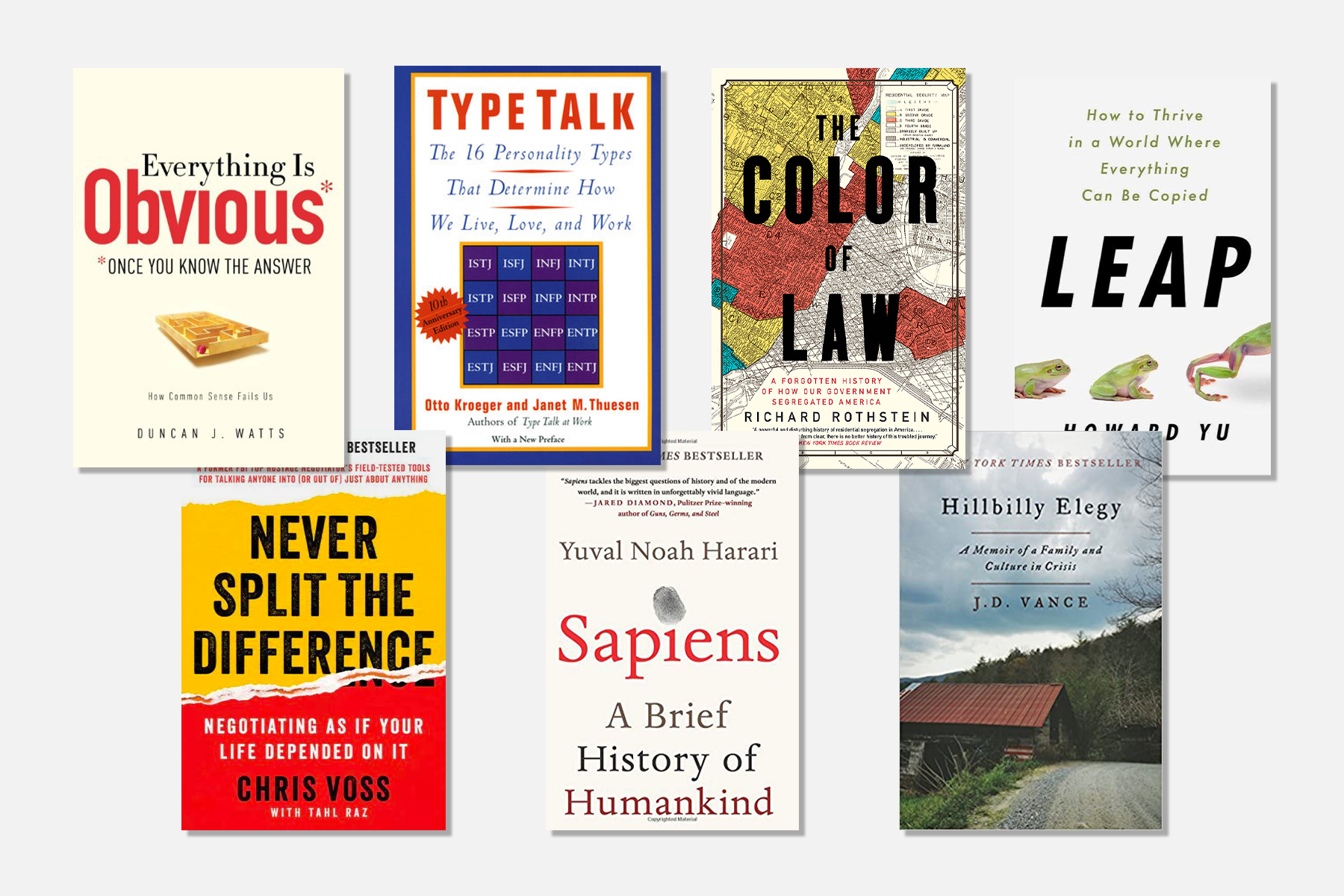 7 Books Highly Recommended by Successful Executives - D Magazine