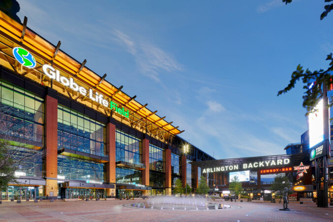 Globe Life Stadium in Arlington, TX