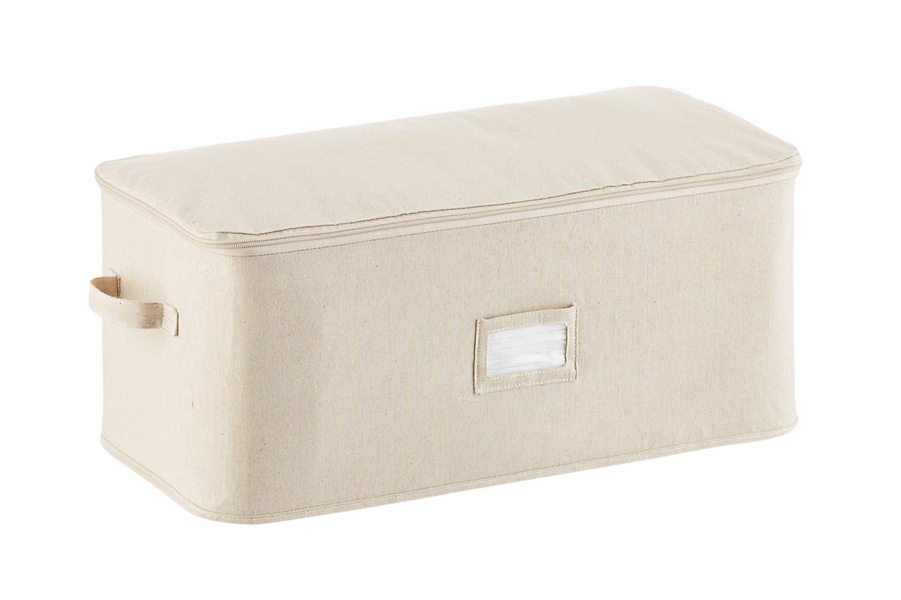 Natural closet storage bag from the container store