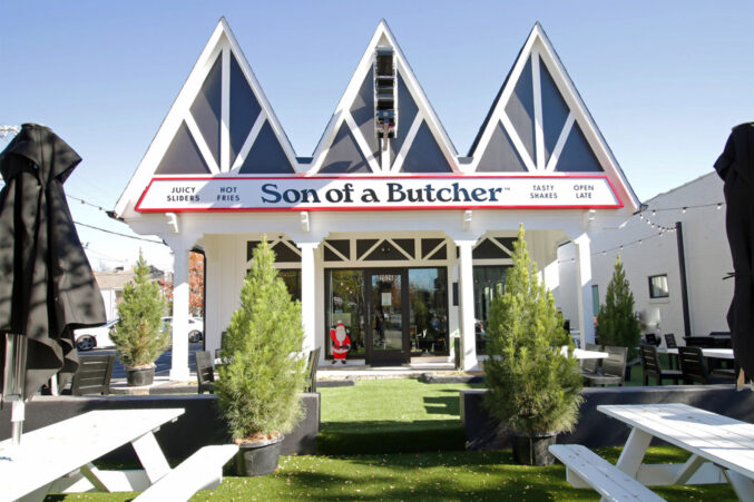 Son of a Butcher patio