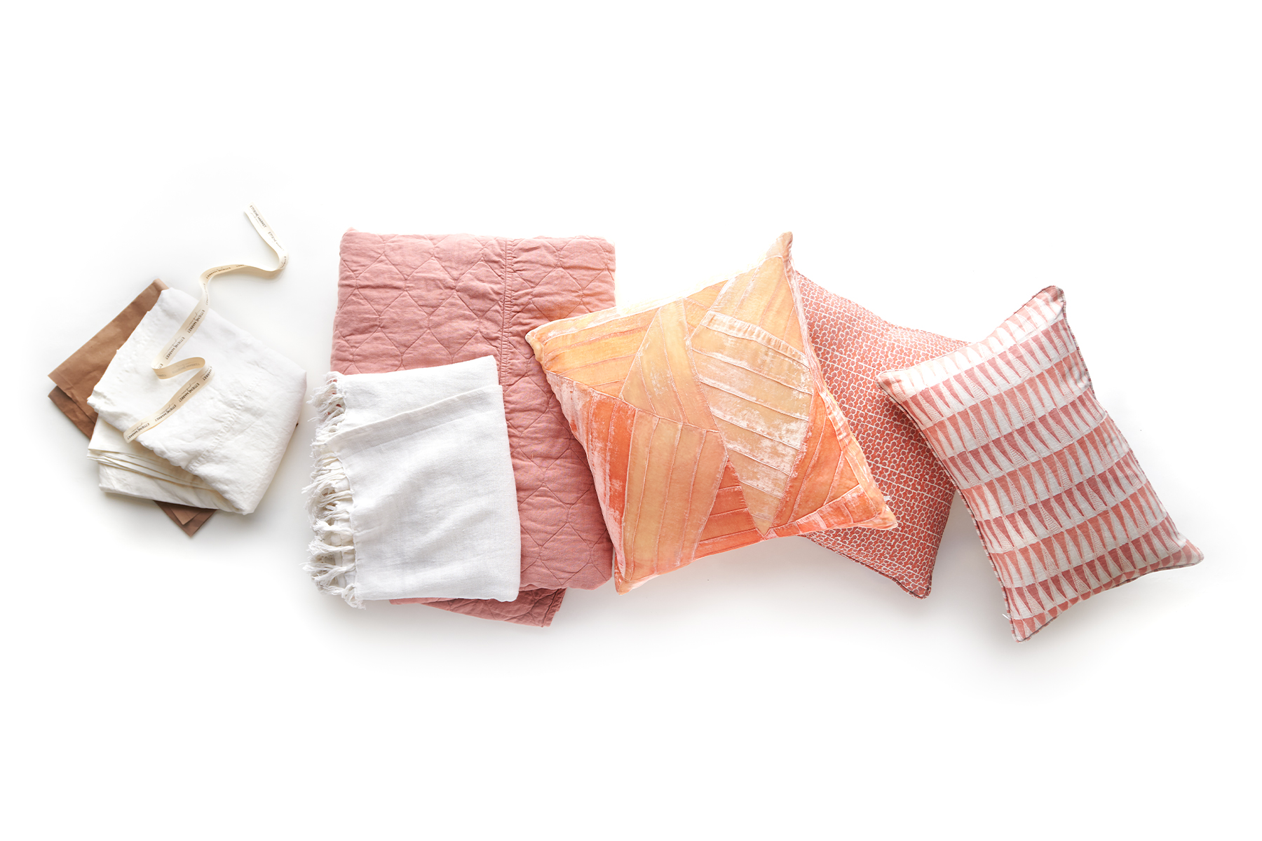 Assorted pillows and bedding Mary Cates and Co.