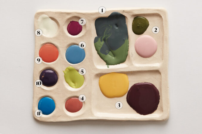 paint colors and pairs