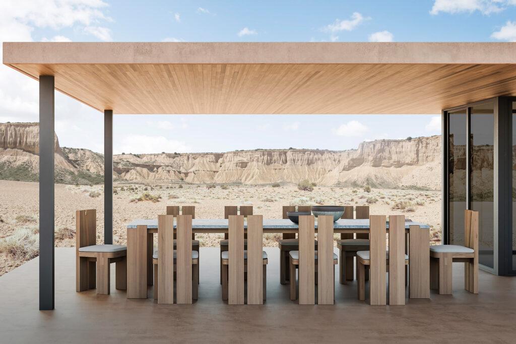 Sutherland Furniture's 2020 Plateau collection, designed by Bonetti-Kozerski