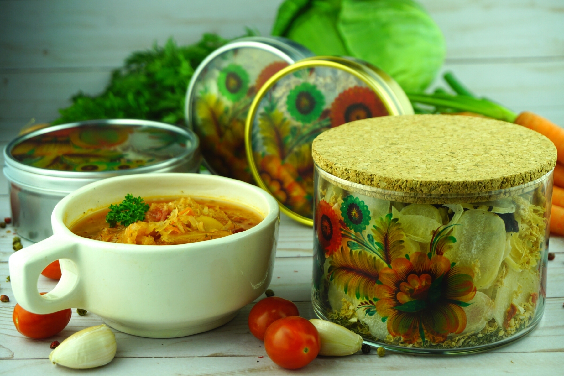 sauerkraut borscht