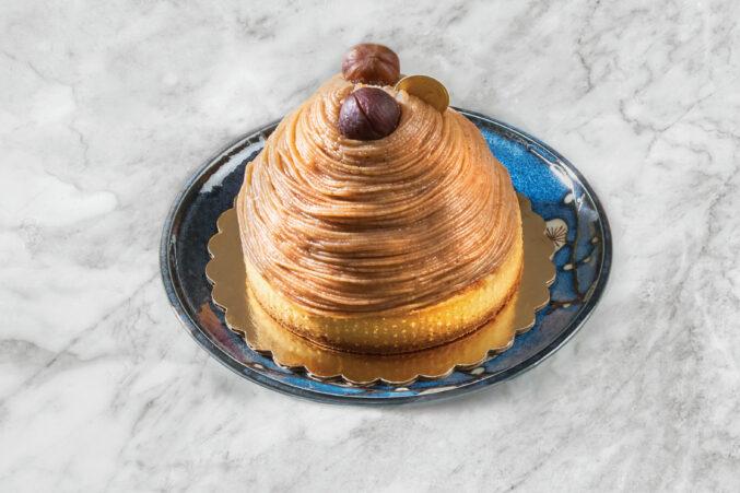 chestnut cream based Mont Blanc