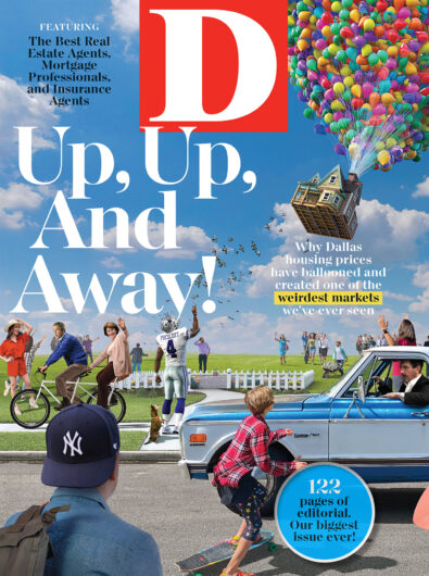D magazine cover july 2021