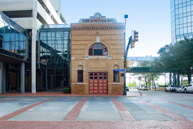 Fire Station No. 1 at 203 Commerce Street