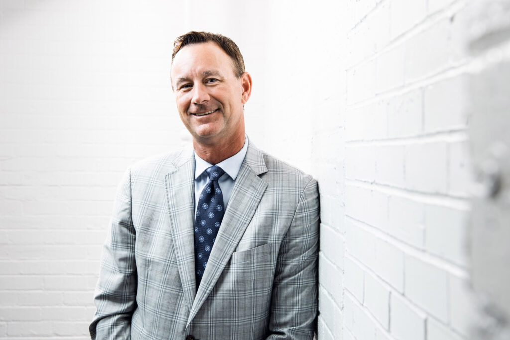 Brad Alberts CEO of the Dallas Stars