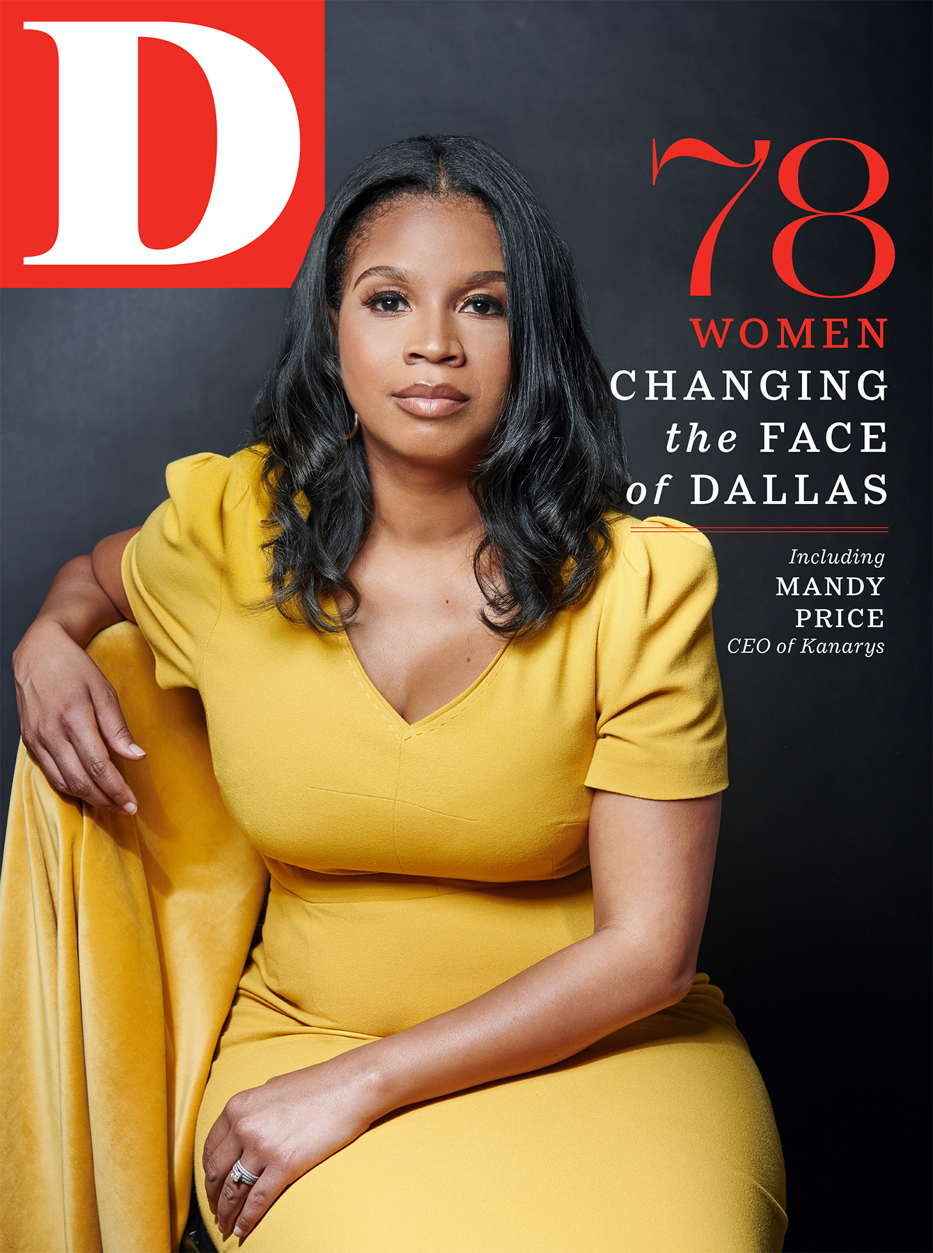 D Magazine August Cover