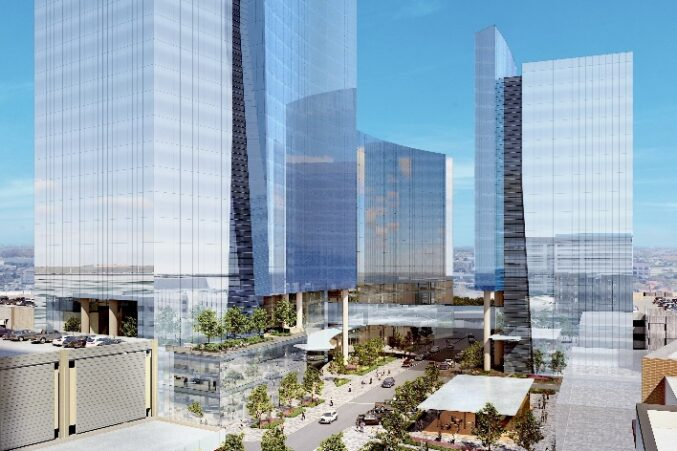 KDC plans to add three new office buildings to its CityLine development in Richardson.