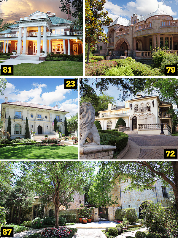 The 100 Most Expensive Homes in Dallas 2005 - D Magazine