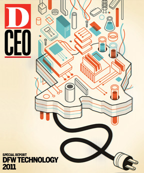 Special Report DFW Technology 2011 cover