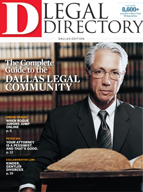 Special Edition Legal Directory 2010 cover