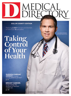 Special Report Collin County Medical Directory 2011 cover