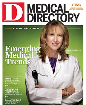 Special Report Collin County Medical Directory 2012 cover