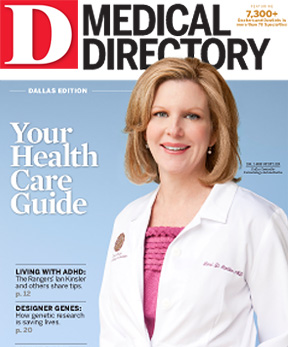 Special Report Dallas Medical Directory 2011 cover