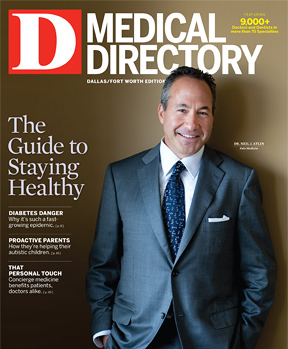 Special Report Dallas Medical Directory 2012 cover