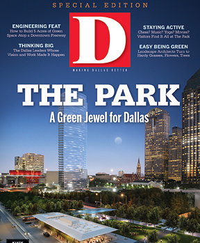 Special Report The Park 2012 cover