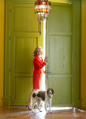 Inside Anchorwoman Jane Mcgarry S Colorful Home D Magazine