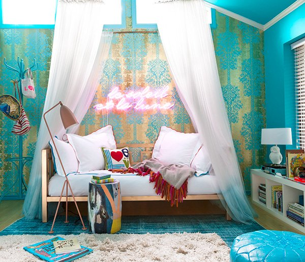 A 10-Year-Old's Ultimate Crash Pad