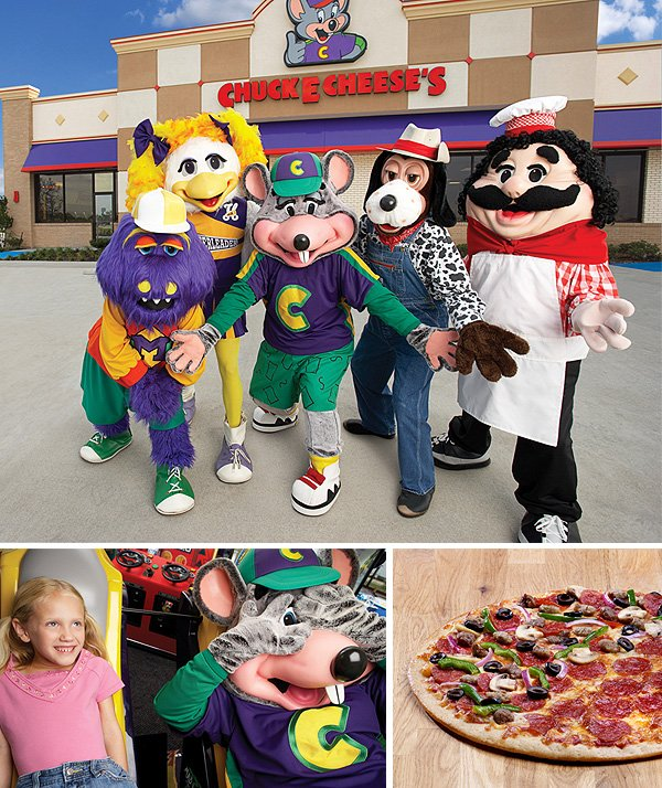 Chuck E Cheese S The Pure Joy Of Overstimulation D