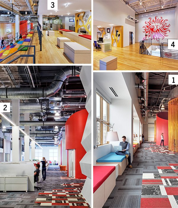 cool open office space cool office lighting the coolest offices in dallasfort worth magazine