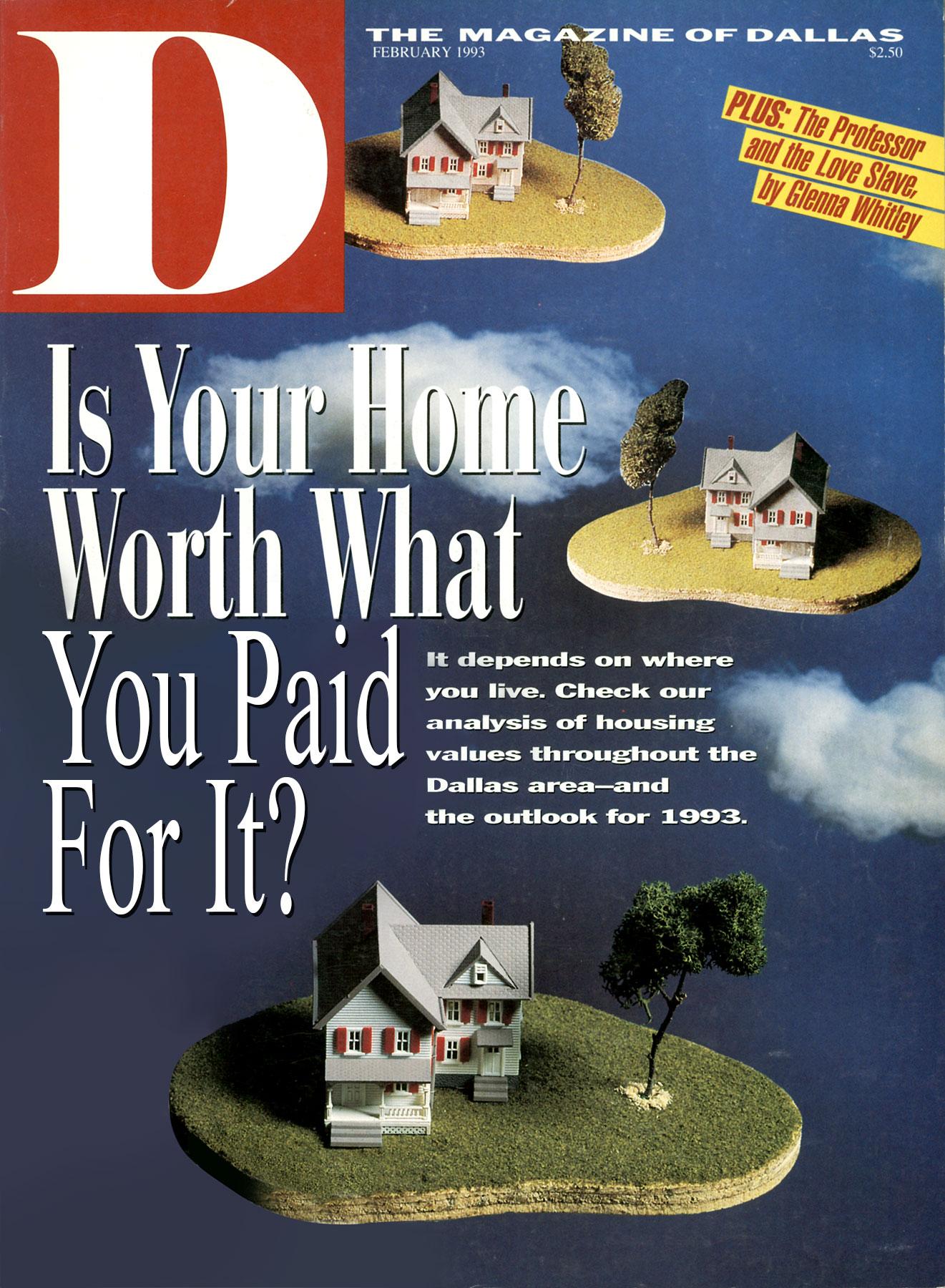February 1993 cover