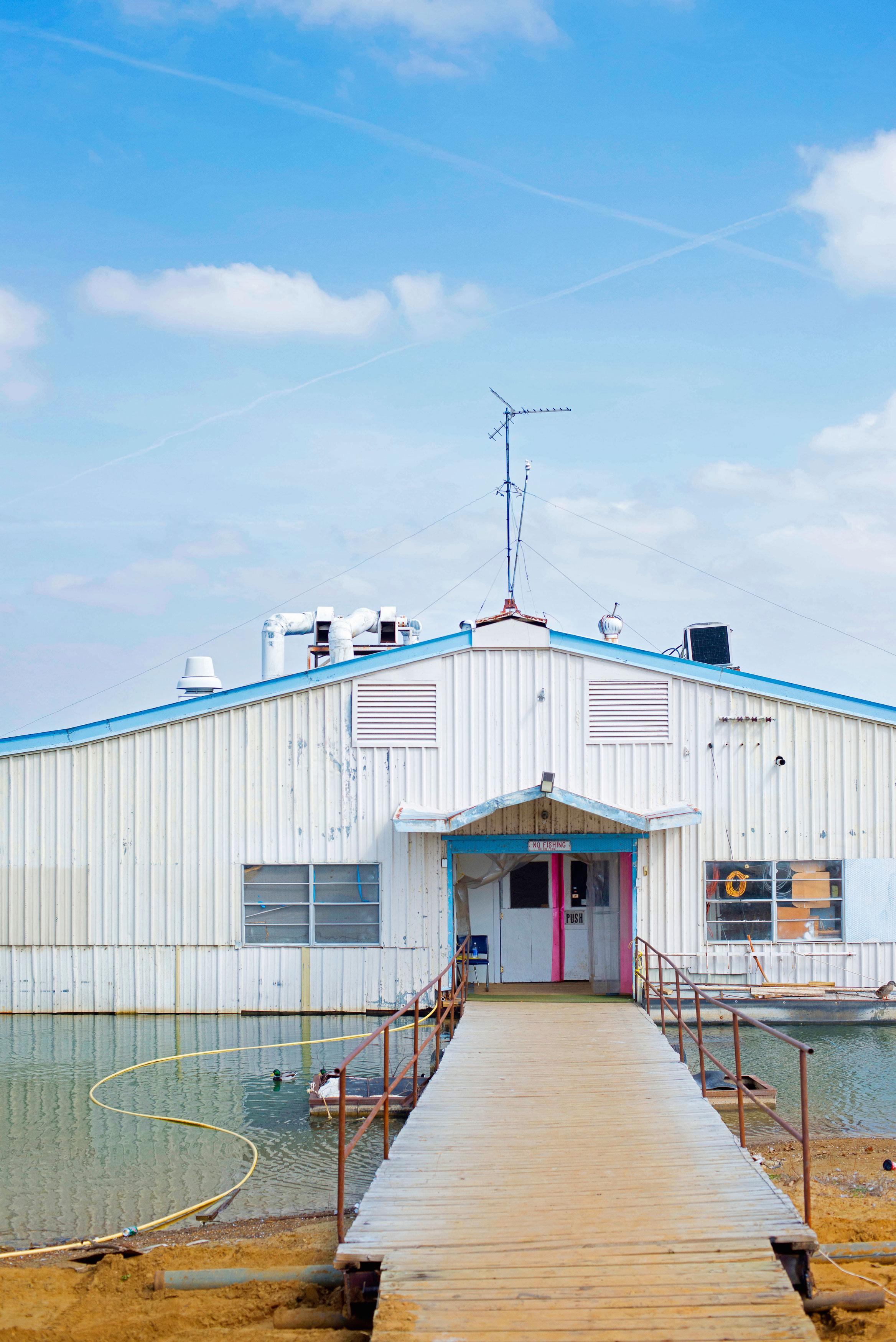 How the Lewisville Fishing Barge Is Like a Time Machine - D